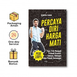 Buku Percaya Diri Harga Mati - Araska Publisher - Denieda Fanun