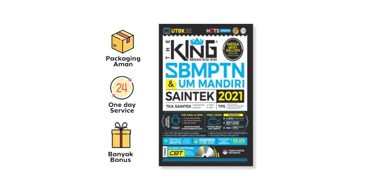 THE KING BEDAH KISI2 SBMPTN & UM MANDIRI SAINTEK 2020-2021 ...