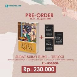 PRE ORDER - Surat Surat Rumi + Trilogi