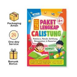 Paket Lengkap Calistung Buku Anak TK Paud (Checklist)