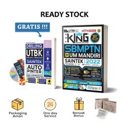 The King Bedah Kisi-Kisi SBMPTN & UM Mandiri Saintek 2021-2022 (FE) + CD