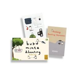 Buku Minta Dibanting + Sticker Pack + Miniposter (Rintik Sedu)
