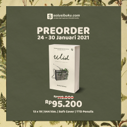 Pre-Order Ulid Sebuah Novel Free 1 Bookmark - (Shira Media)
