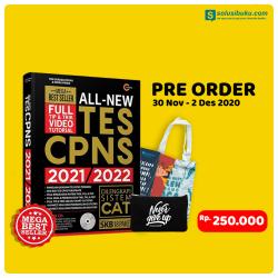 Pre-Order All-New Tes CPNS 2021/2022 Bonus Pouch (CMedia)