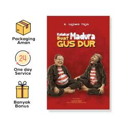 Buku Kelakar Madura Buat Gus Dur - Sujiwo Tejo (Imania)