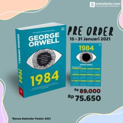 Pre-Order 1984 George Orwell - (Bentang Pustaka)