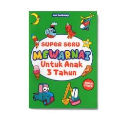 Super Seru Mewarnai Untuk Anak 3 Tahun