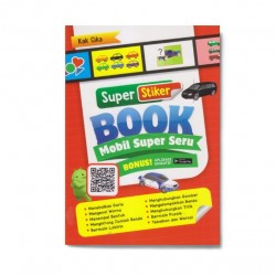 Mobil Super Seru: Super Sticker Book