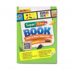 Buah & Sayur Super Seru: Super Sticker Book