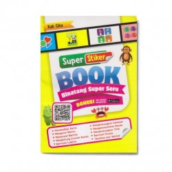Binatang Super Seru: Super Sticker Book