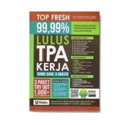 Lulus Tpa Kerja Bumn, Bank & Swasta: Top Fresh 99,99%