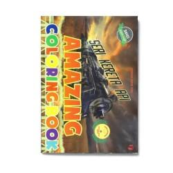 Seri Kereta Api: Amazing Coloring Book