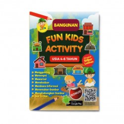 Seri Bangunan: Fun Kids Activity Usia 4-6 Tahun