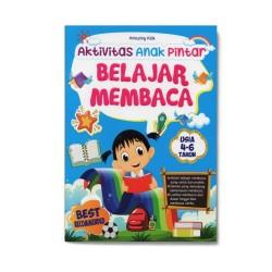 Belajar Membaca: Aktivitas Anak Pintar