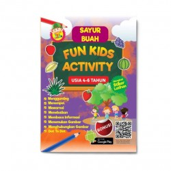 Seri Buah & Sayur: Fun Kids Activity Usia 4-6 Tahun
