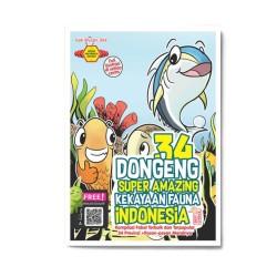 34 Dongeng Super Amazing Kekayaan Fauna Indonesia