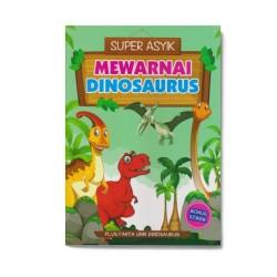 Mewarnai Dinosaurus: Super Asyik