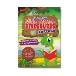 Super Asyik Belajar Bersama Dinosaurus Abacaga