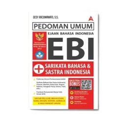 Pedoman Umum Ebi + Sarikata & Sastra Indonesia