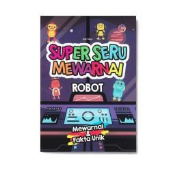 Robot Super Seru Mewarnai