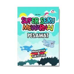 Pesawat Super Seru Mewarnai