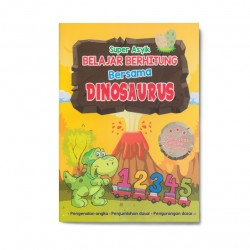 Super Asyik Belajar Behitung Bersama Dinosaurus