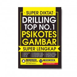 Super Diktat Drilling Top No.1 Psikotes Gambar