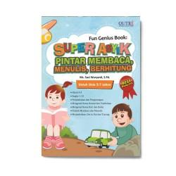 Super Asyik Pintar Membaca, Menulis, Berhitung: Fun Genius Book