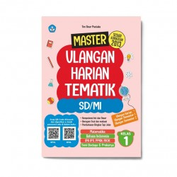 Kelas 1: Master Ulangan Harian Tematik Sd/Mi