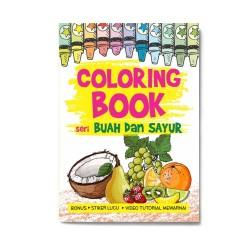 Seri Buah Dan Sayur: Coloring Book