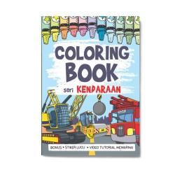 Seri Kendaraan: Coloring Book