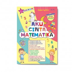 Aku Cinta Matematika (3-7 Th) Paud, Tk & Sd