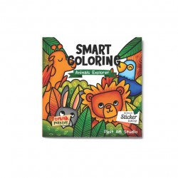 Animals Explorer: Smart Coloring Teknik Pastel