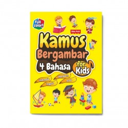 Kamus Bergambar 4 Bahasa For Kids
