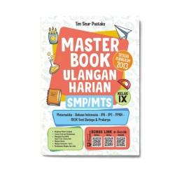 Kelas 9 Smp/Mts: Master Book Ulangan Harian