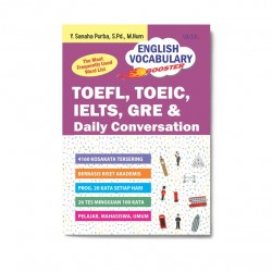 English Vocabulary Booster: Toefl, Toeic, Ielts, Gre & Daily Conversation
