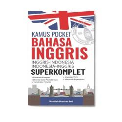 (Charissa) Kamus Pocket Bahasa Inggris Superkomplet