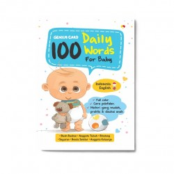 100 Daily Words For Baby: Genius Card