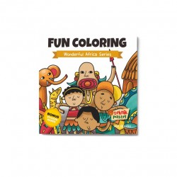 Wonderful Africa Series: Fun Coloring