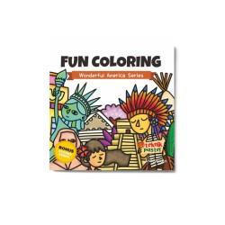 Wonderful America Series: Fun Coloring