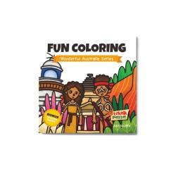 Wonderful Australia Series: Fun Coloring