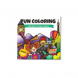 Wonderful Eropa Series: Fun Coloring