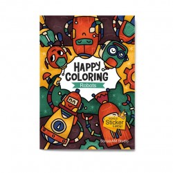 Robot : Happy Coloring