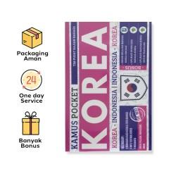 KAMUS POCKET INGGRIS – KOREA | INDONESIA - KOREA