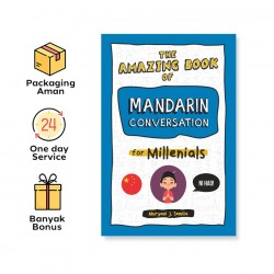 THE AMAZING BOOK OF MANDARIN CONVERSATION FOR MILLENIALS