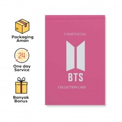 UNOFFICIAL BTS COLLECTION CARD